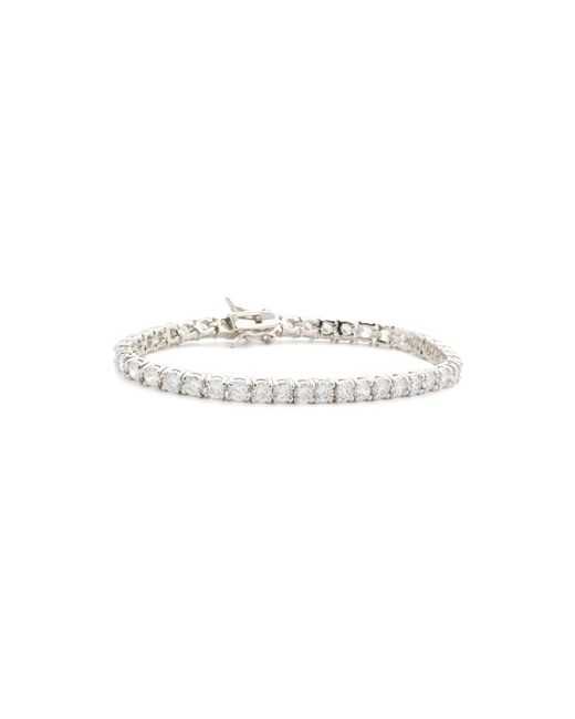 Kenneth Jay Lane | Metallic Cz Bracelet | Lyst