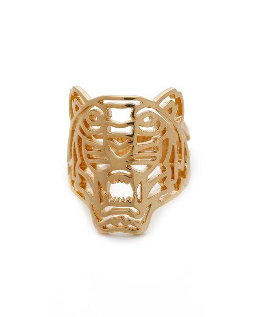 KENZO | Metallic Tiger Ring | Lyst