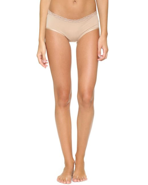 Natori | Natural Bliss Girl Shorts | Lyst