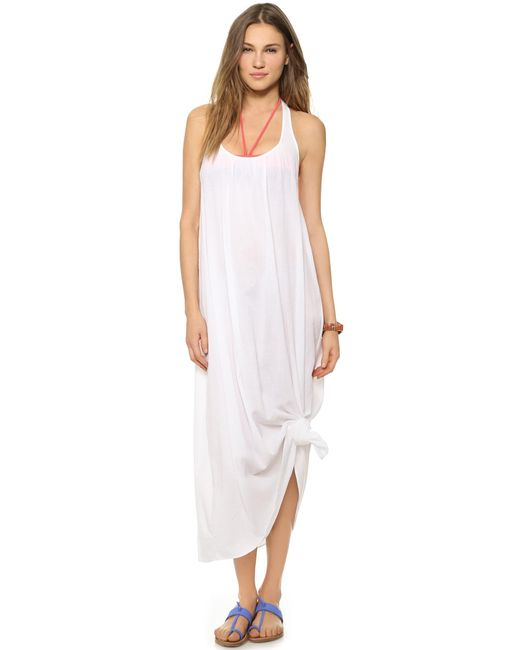 9seed | White Antigua Cover Up Dress | Lyst
