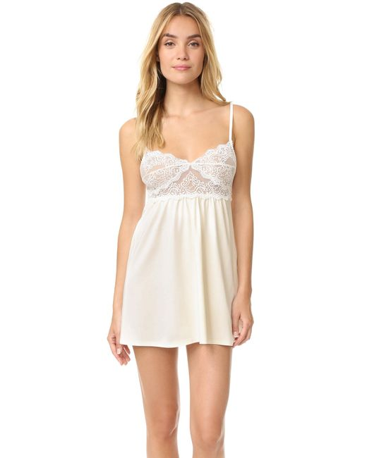 Only Hearts | Natural So Fine Baby Doll Chemise | Lyst