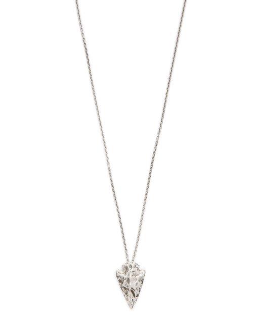 Pamela Love | Metallic Mini Arrowhead Pendant Necklace | Lyst