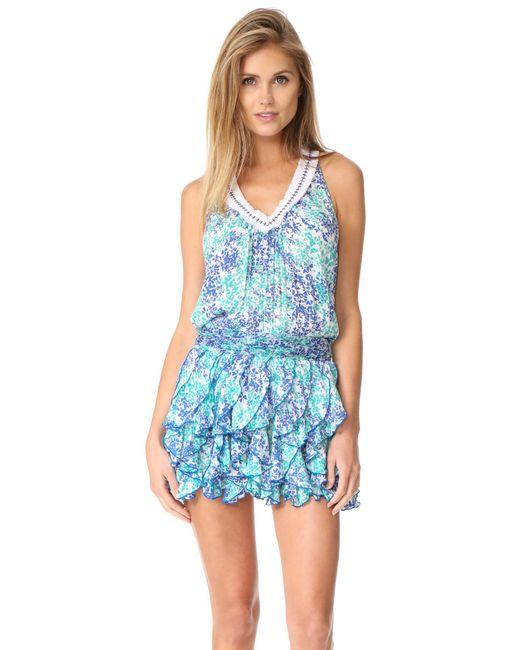 Poupette   Blue Beline Dress   Lyst