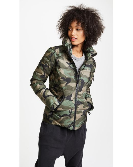 Sam. | Green Camo Freestyle Quilted Jacket | Lyst
