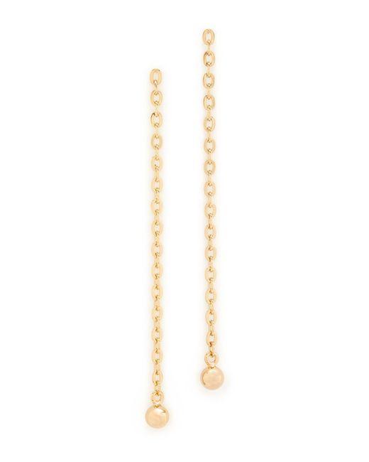 Saskia Diez | Metallic Barbelle Earrings | Lyst