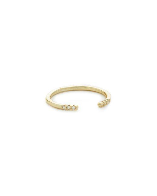 Shashi | Metallic Ava Ring | Lyst