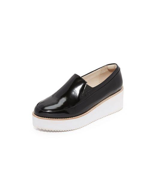 Sol Sana | Black Tabbie Loafers | Lyst