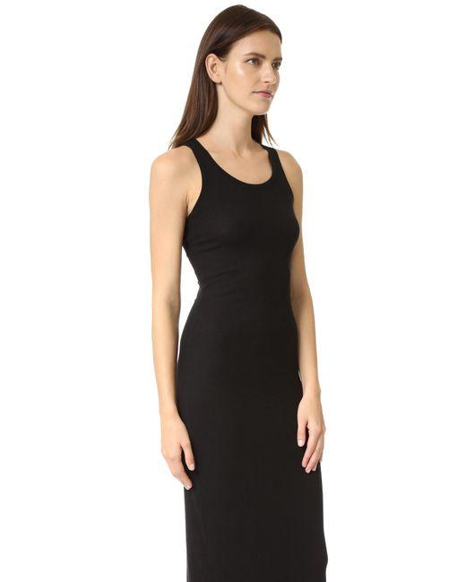 Splendid Ribbed Maxi Dress in Black - Save 2% | Lyst