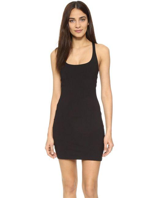 Susana Monaco   Black Racer Mini Dress   Lyst
