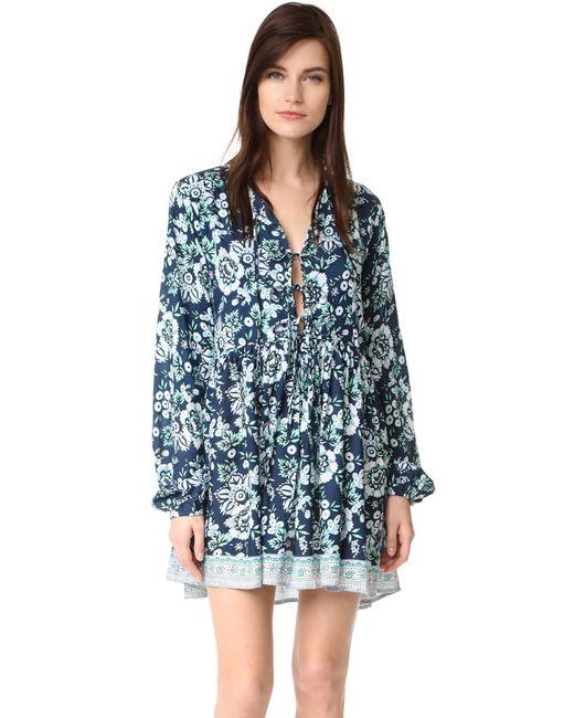 Tiare Hawaii   Blue Dahlia Dress   Lyst