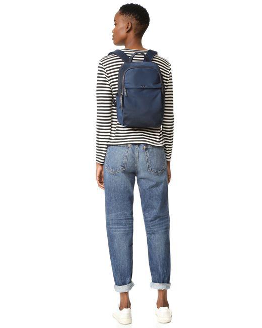 Tumi Daniella Small Backpack In Blue Lyst