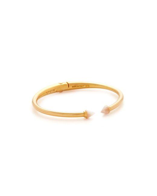 Vita Fede | Metallic Ultra Mini Titan Stone Bracelet | Lyst