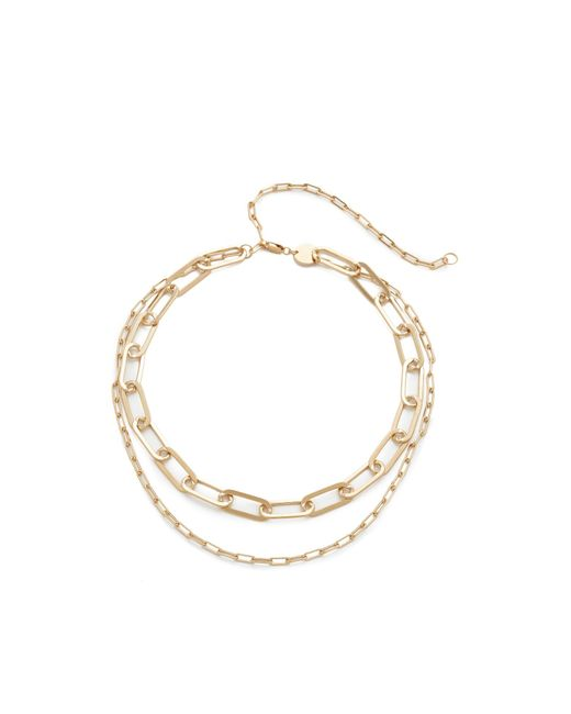 Jennifer Zeuner | Metallic Mayfair Double Choker Necklace | Lyst