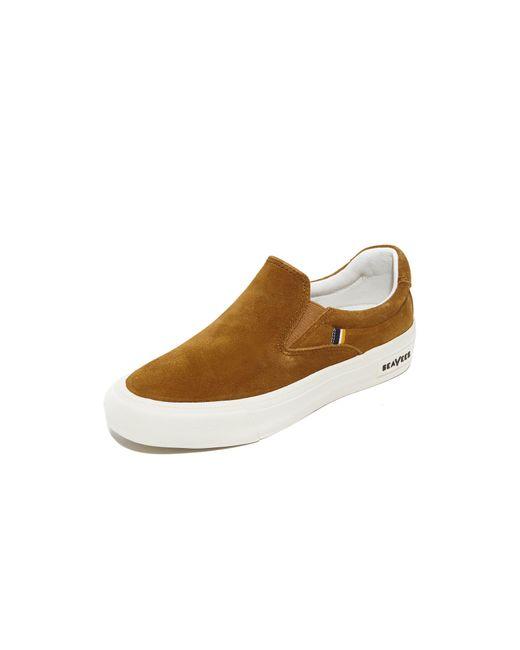 Seavees   Brown X Derek Lam 10 Crosby Hawthorne Slip On Sneakers   Lyst