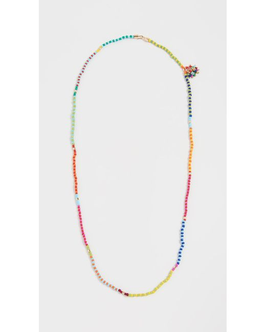 Roxanne Assoulin Multicolor Patchwork Beaded Necklace