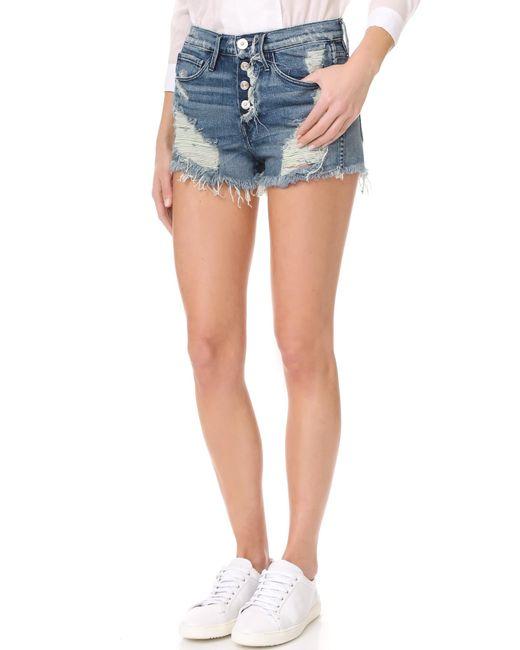 3x1 | Multicolor Shelter Cutoff Shorts | Lyst