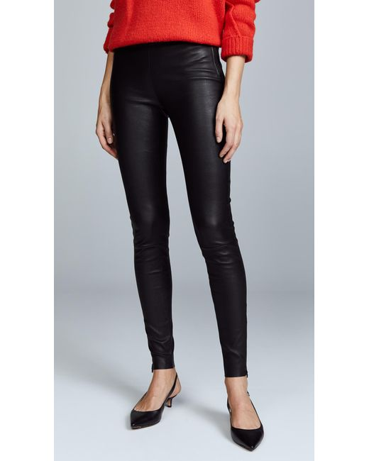 Mackage - Black Leather Leggings - Lyst