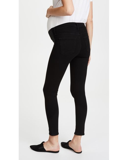 db761df314083 ... Citizens of Humanity - Black Maternity Avedon Ankle Jeans - Lyst ...