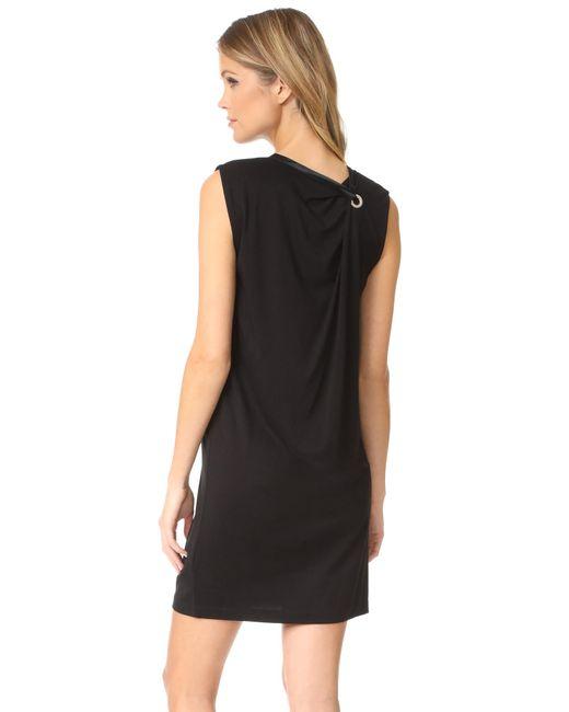 Rag & Bone | Black Knotted Dress | Lyst