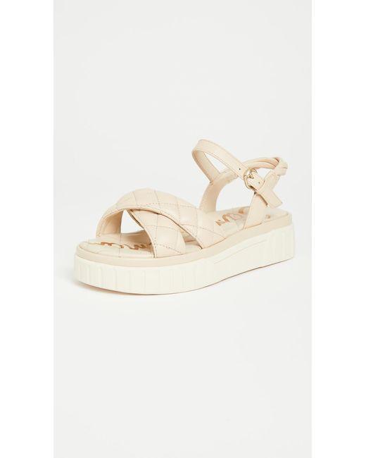 Sam Edelman Natural Gavril Platform Sandals