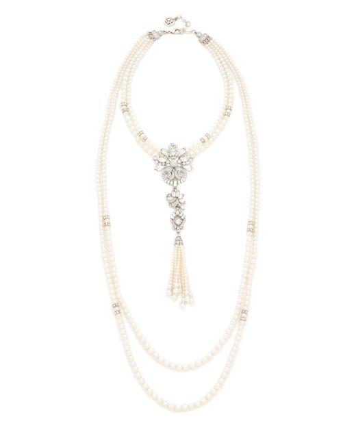 Ben-Amun | Metallic Statement Layered Necklace | Lyst