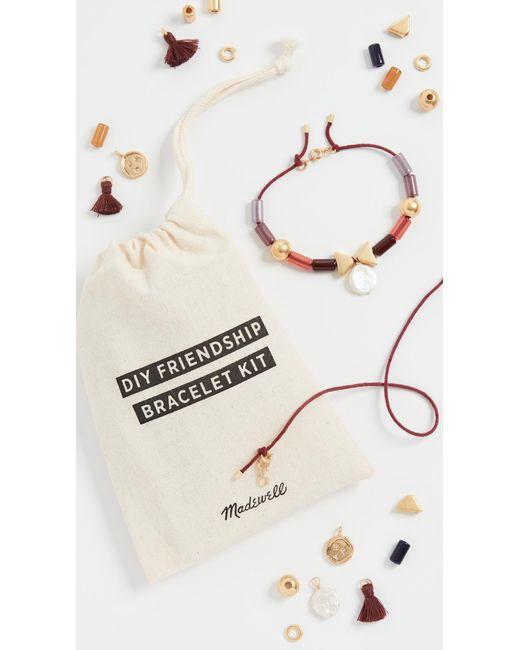 Madewell Multicolor Diy Friendship Bracelet Kit