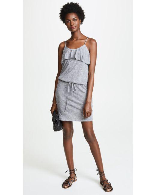 Ruffle Tank Mini Dress