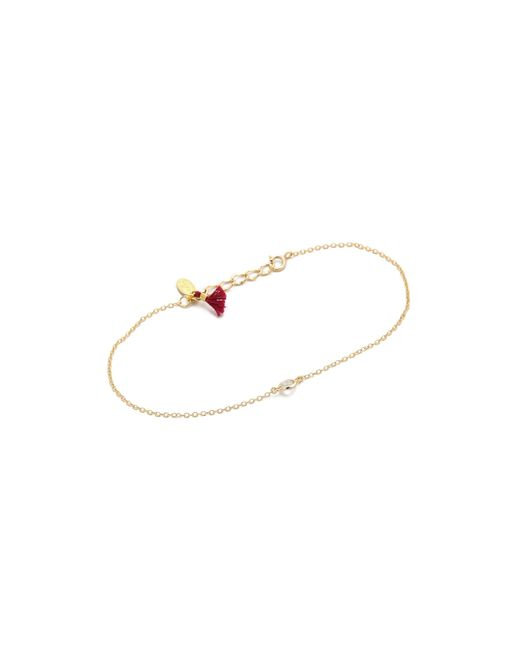Shashi | Metallic Solitaire Bracelet | Lyst