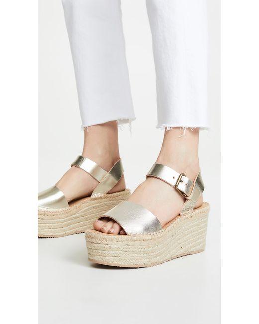 8bf007e79c18 ... Soludos - Multicolor Minorca High Platform Sandals - Lyst ...