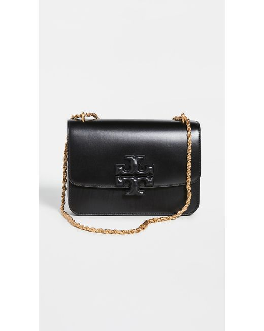 Tory Burch Black Eleanor Convertible Shoulder Bag
