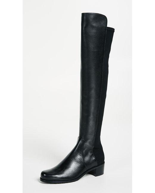 Stuart Weitzman Black Reserve Tall Boots