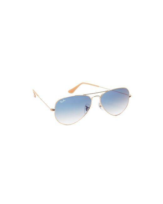 Ray-Ban - Blue Aviator Sunglasses - Lyst