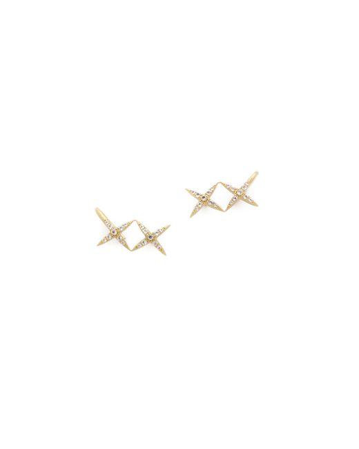 Elizabeth and James | Metallic Vida Ear Crawlers | Lyst