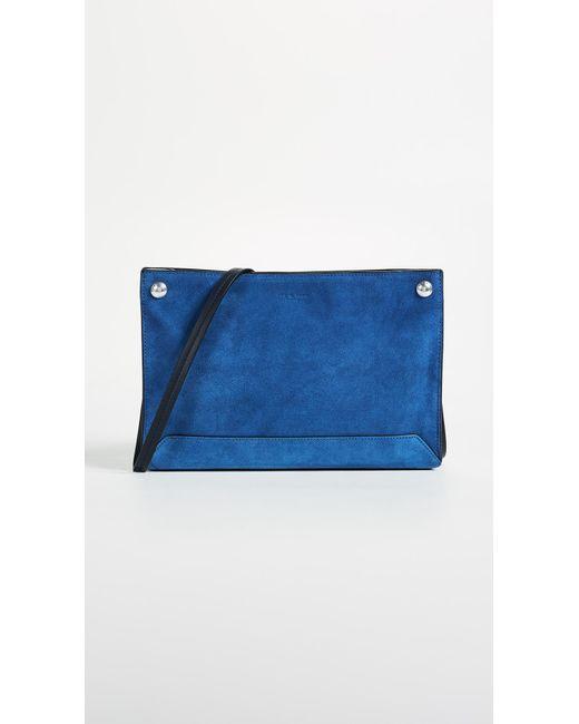 Rag & Bone - Blue Compass Cross Body Bag - Lyst