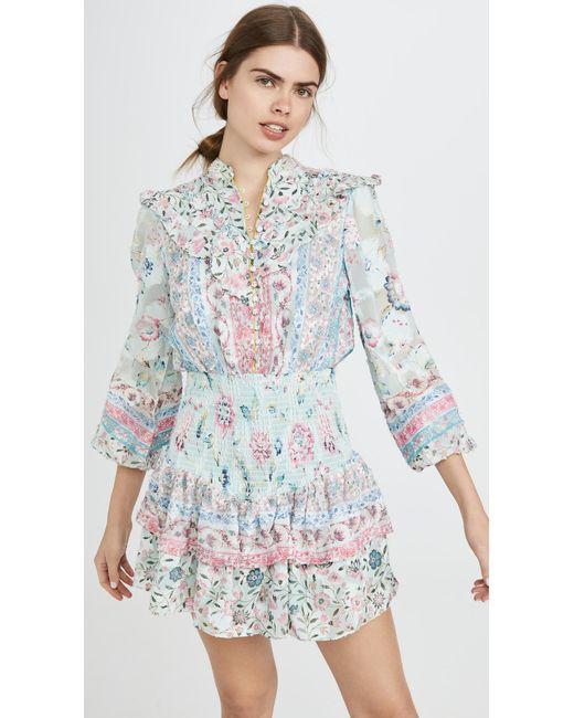 Hemant & Nandita Multicolor Short Dress