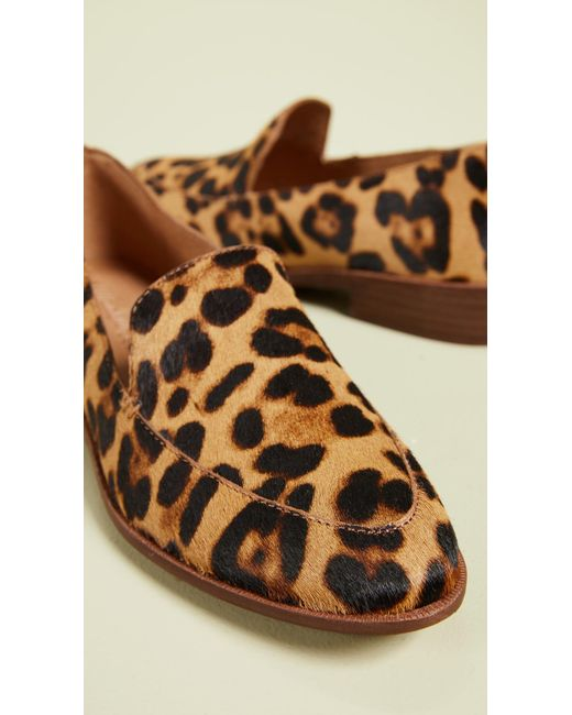 0571d5be24a ... Madewell - Multicolor Frances Leopard Loafers - Lyst ...