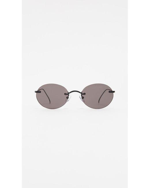 Illesteva Multicolor Nicotera Small Rimless Sunglasses