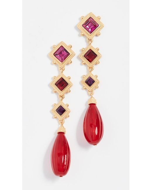 Ben-Amun - Multicolor Arielle Earrings - Lyst