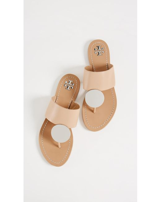 Tory Burch - Multicolor Patos Disk Sandals - Lyst