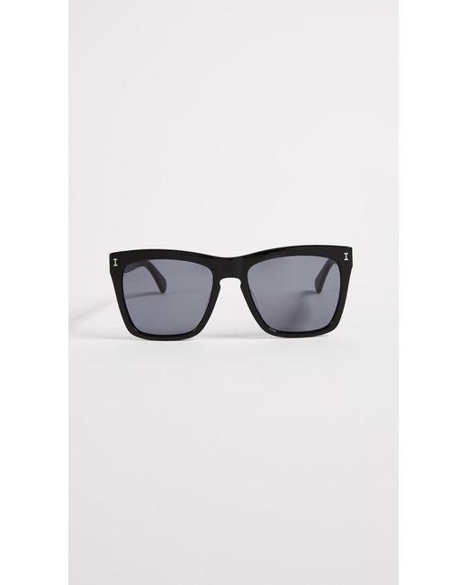 Illesteva Black Los Feliz Sunglasses