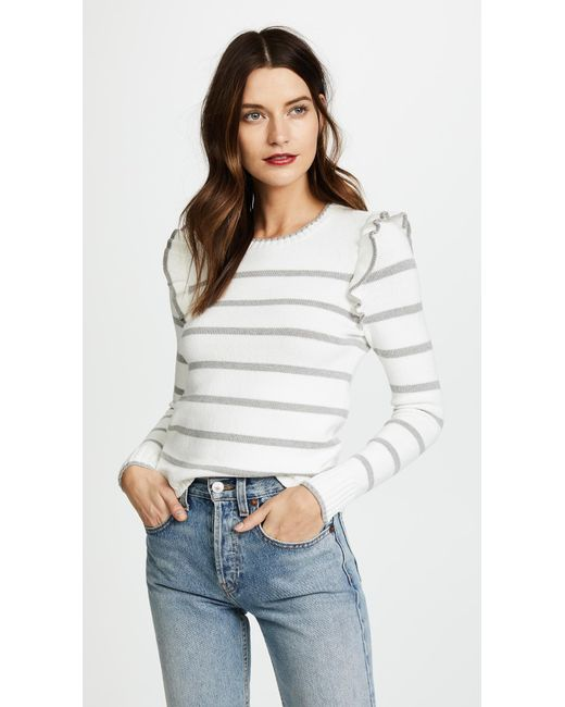 Cupcakes And Cashmere - White Bryant Sweater - Lyst