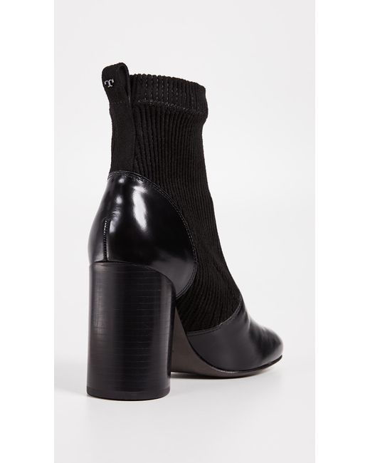 d2e32314920 ... Tory Burch - Black Rowen Booties - Lyst ...