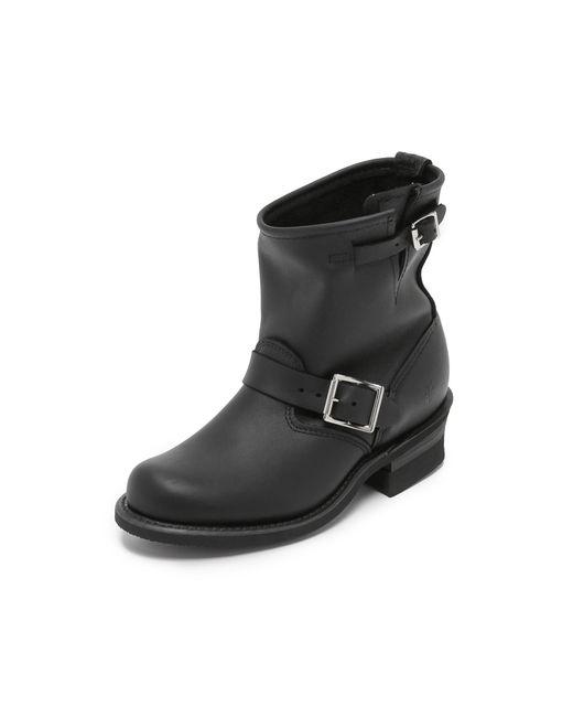 Frye - Black Engineer 8r Boots - Lyst