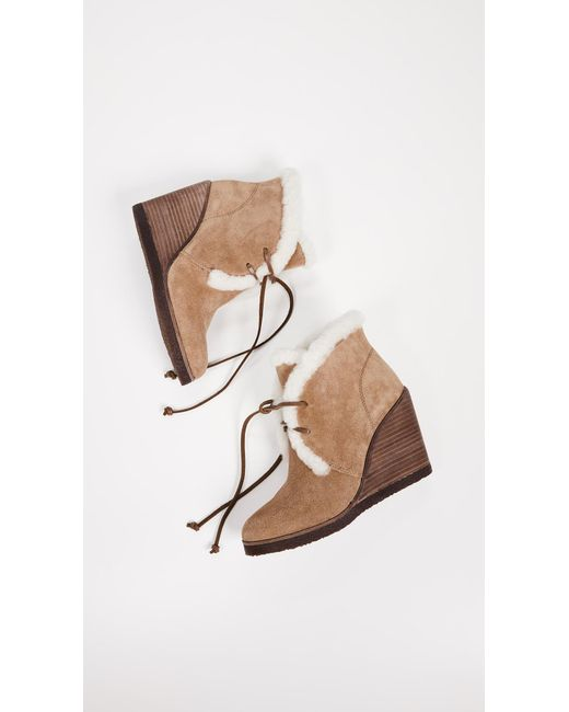 6d9840e4562d ... Splendid - Brown Catalina Ankle Boot - Lyst ...