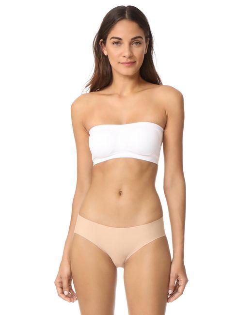 Fashion Forms - White Stretch Bandeau Bra - Lyst
