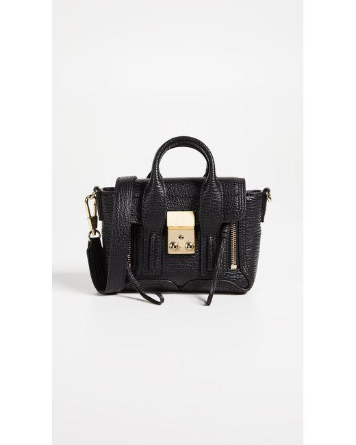 3.1 Phillip Lim Black Pashli Medium Leather Satchel