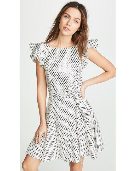 La Vie Rebecca Taylor Multicolor Corrine Dress