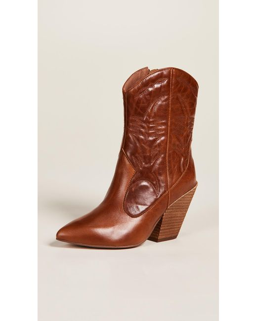 2ba98560f355d Jeffrey Campbell - Brown Midpark Western Boots - Lyst ...
