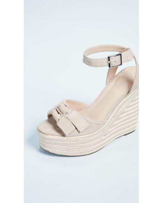 189b8b1ab8e9 ... Kendall + Kylie - Multicolor Gwen Wedge Espadrille Sandals - Lyst ...