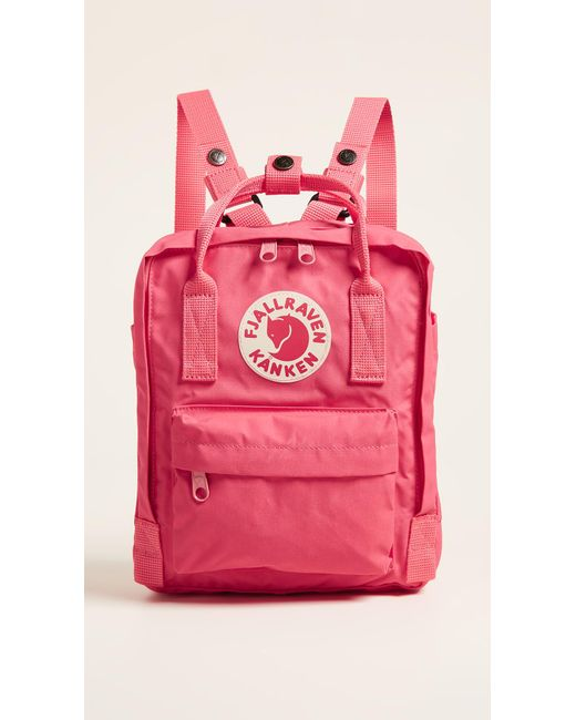 a11f6a87d060f Fjallraven Kanken Mini Backpack in Pink - Save 13% - Lyst